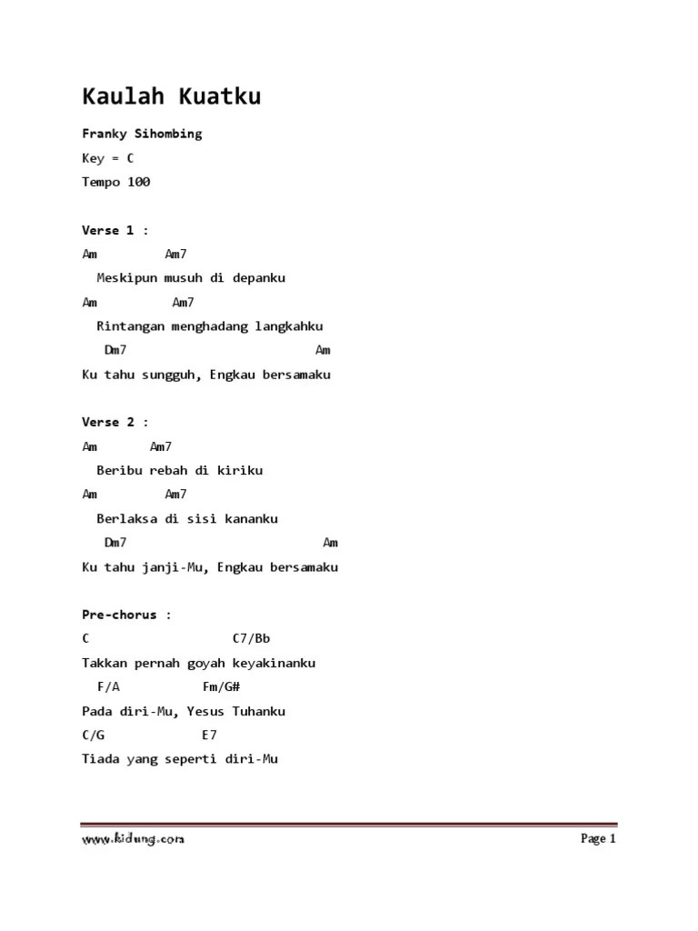 Lirik Lagu Kemenanganku : lirik, kemenanganku, Kaulah_kuatku