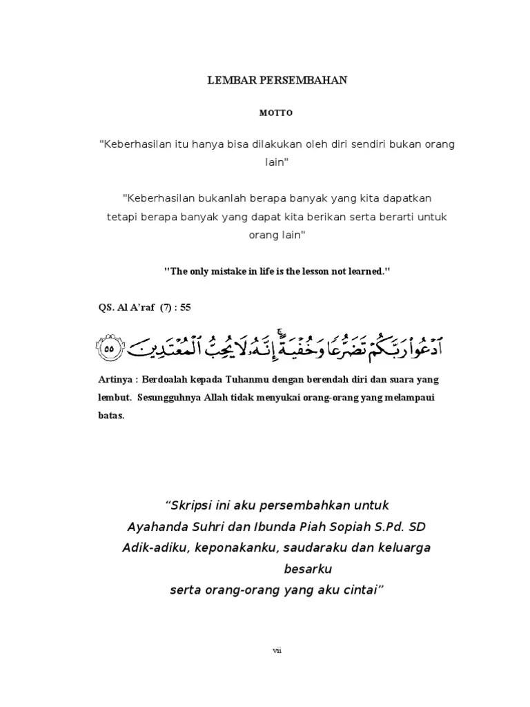 Halaman Persembahan Skripsi Pdf : halaman, persembahan, skripsi, Persembahan, Skripsi, Judul, Universitas