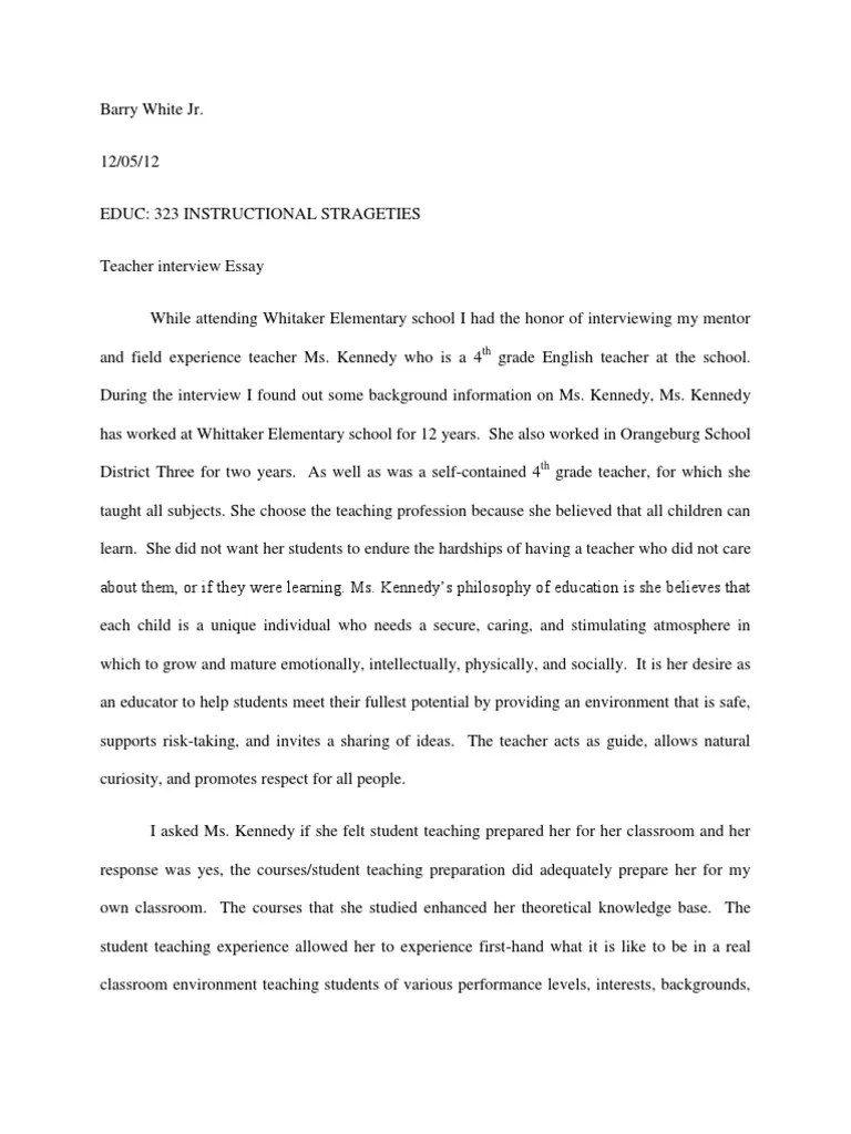 Essays In Philosophy Essay About Teaching Essays On Teaching