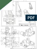 Autodesk Inventor Practice Part Drawings