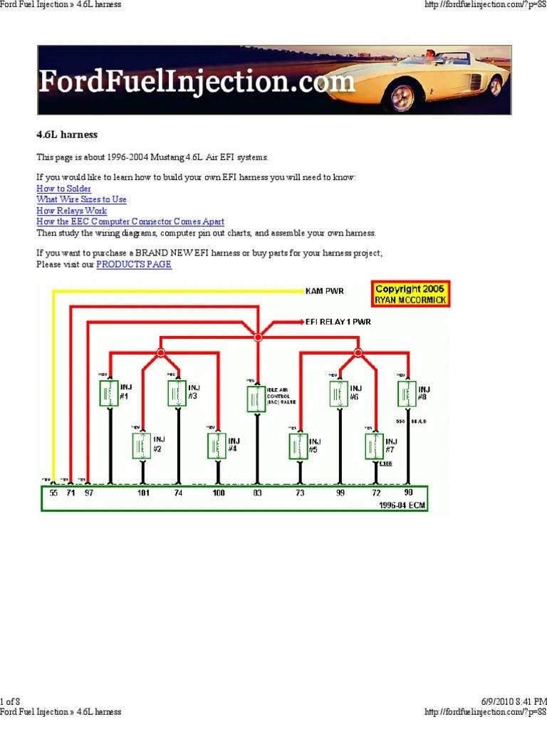 1996 4 6l V8 Engine Diagram | Wiring Diagram Echo  L V Engine Diagram on