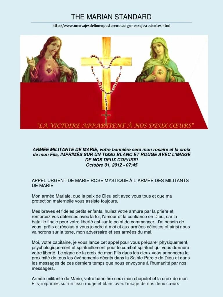 Paroles La Rose Et L'armure : paroles, l'armure, Frances, Rosaire, Marie,, Mère, Jésus