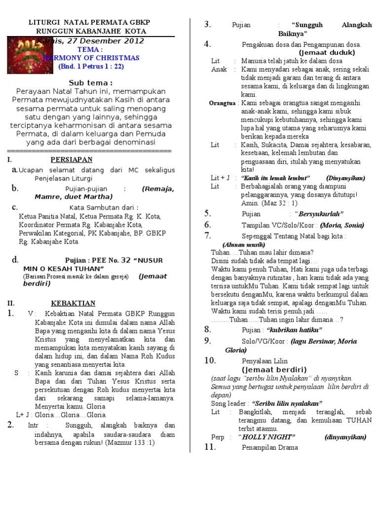 Liturgi Natal Kreatif Sekolah Minggu : liturgi, natal, kreatif, sekolah, minggu, Contoh, Ibadah, Natal, Sekolah, Minggu, Menata, Cute766