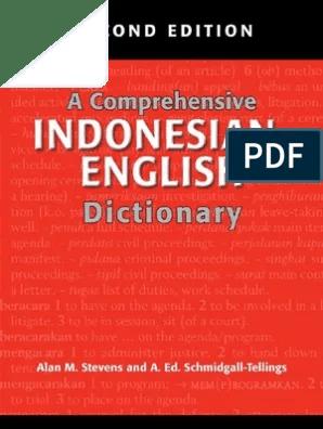 baja ringan in english 25 a comprehensive indonesian dictionary acronym consonant