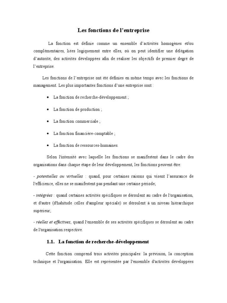 Les Fonctions De L Entreprise : fonctions, entreprise, Fonctions, L'entreprise, Comptabilité, Gestion, Ressources, Humaines