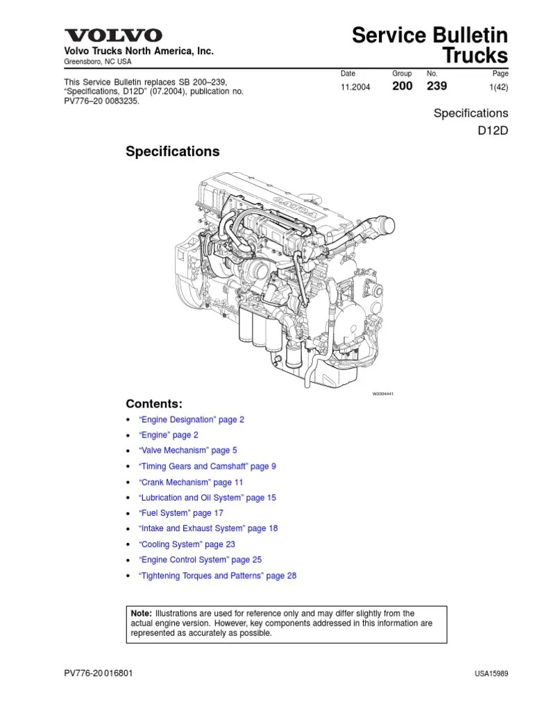 small resolution of volvo 12d engine diagram