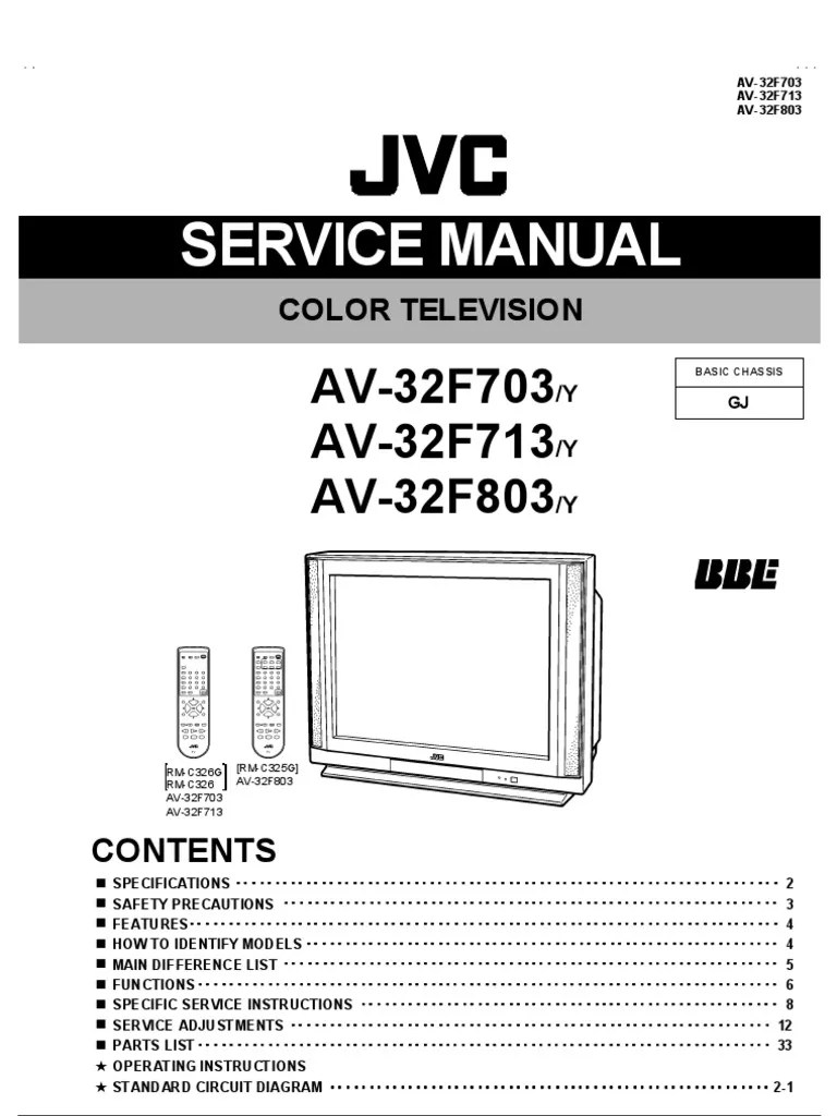 circuit diagram jvc tv [ 768 x 1024 Pixel ]