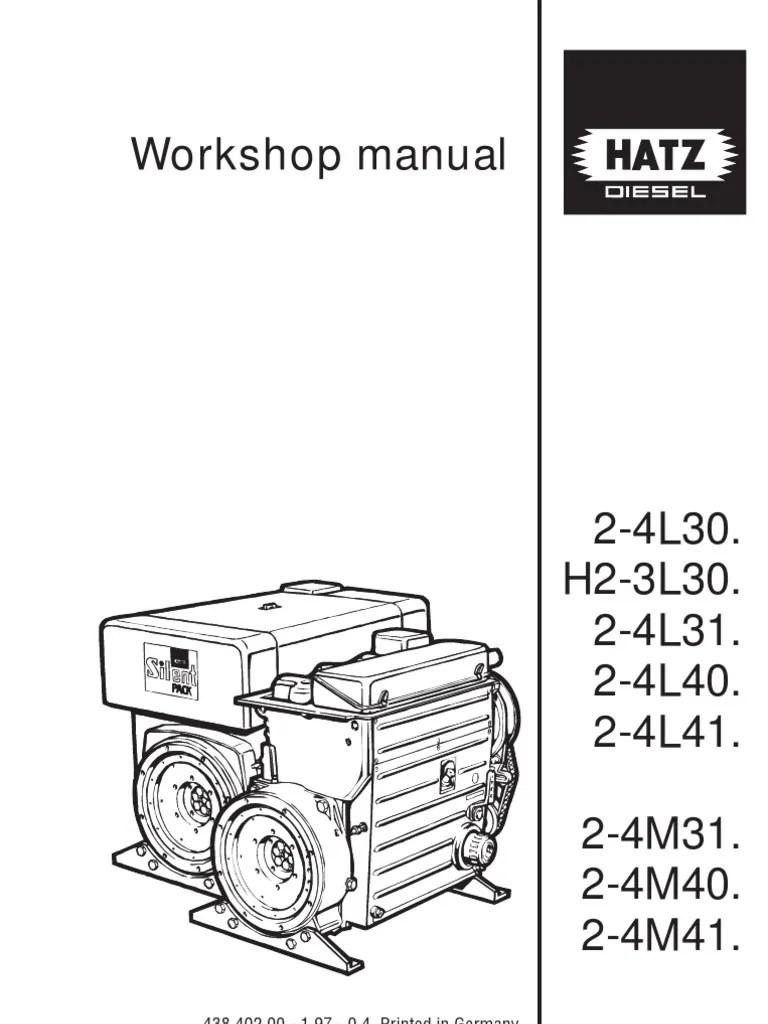 small resolution of hatz repair manual screw pump rh pt scribd com 1b30 hatz diesel hatz diesel motorcycle