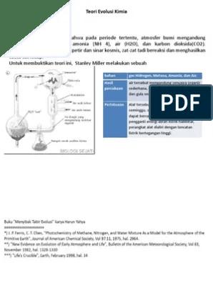 Teori Evolusi Kimia : teori, evolusi, kimia, Teori, Evolusi, Kimia.ppt