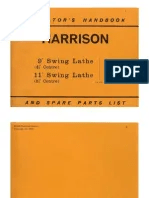 Harrison Lathe Manual Pdf