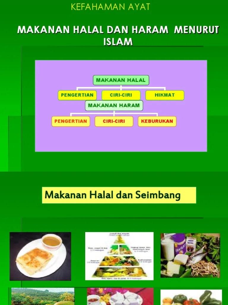 Kriteria Makanan Halal Dan Haram : kriteria, makanan, halal, haram, Makanan, Halal, Haram, Dalam, Islam
