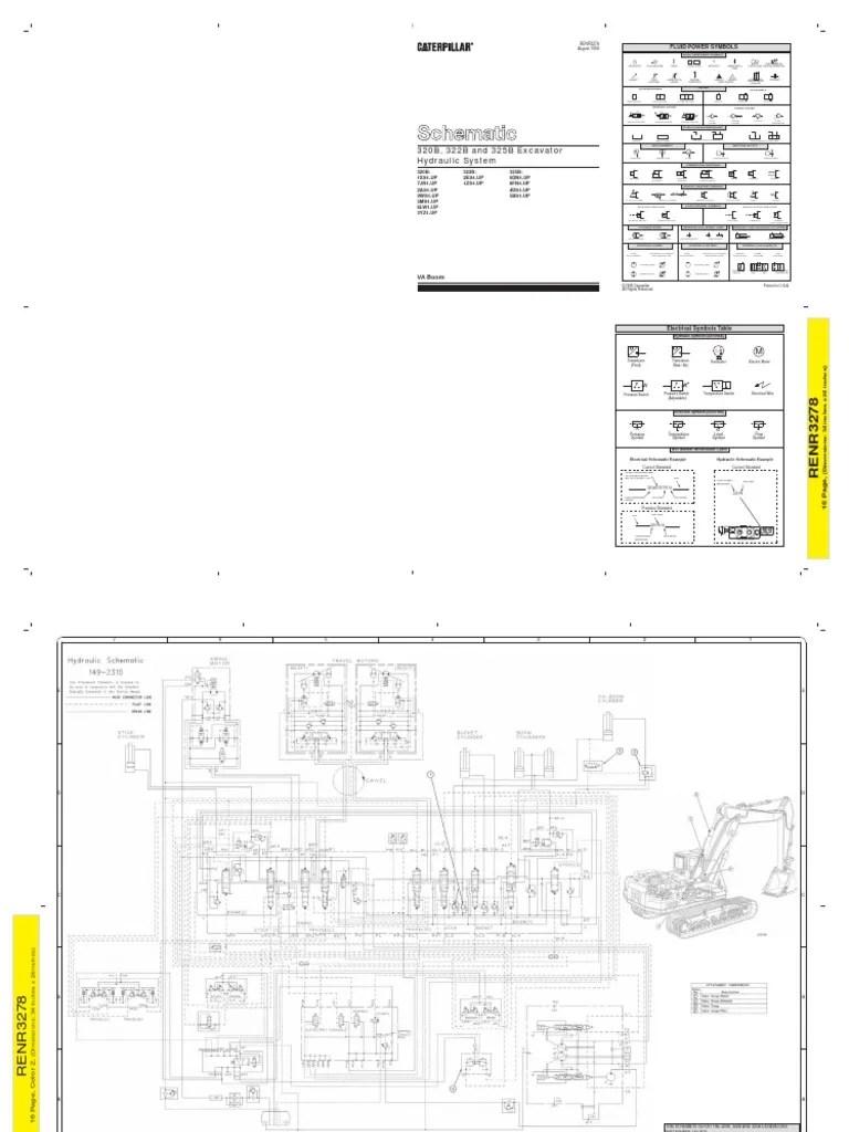 caterpillar hydraulic diagram wiring library diagram a4 ptc wiring diagram cat 320b wiring diagram [ 768 x 1024 Pixel ]