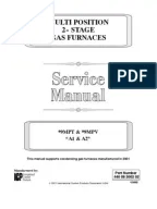Suburban RV FURNACES SERVICE MANUAL | Furnace | Switch