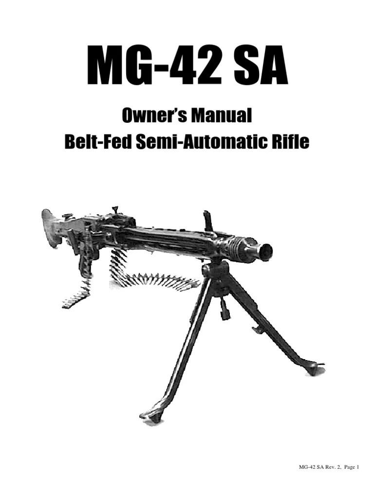 Mg 42 Semi Manual