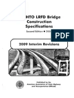 AASHTO Guide Specifications For Design Of Pedestrian