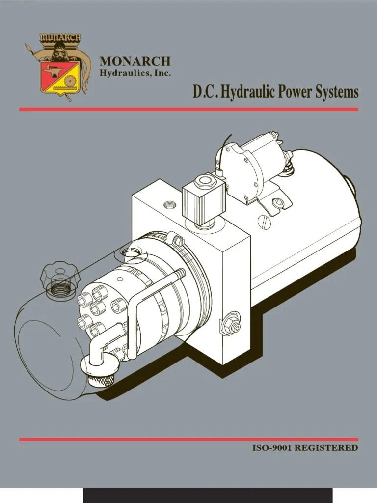 Monarch 12 Volt Hydraulic Pump Wiring Diagram 12v Solenoid Valve