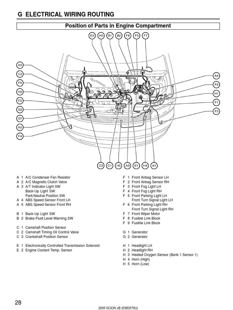 small resolution of 2005 scion xb diagram data wiring diagram schematic 2005 kia sportage diagram 2005 scion xb diagram