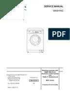 Panasonic NA Series Washing Machine Fault Codes