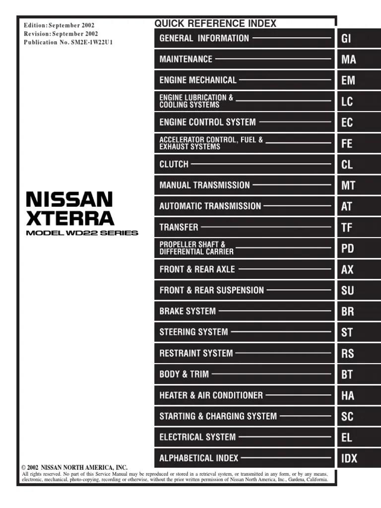 Images Of Nissan Xterra Wiring Diagram Diagrams