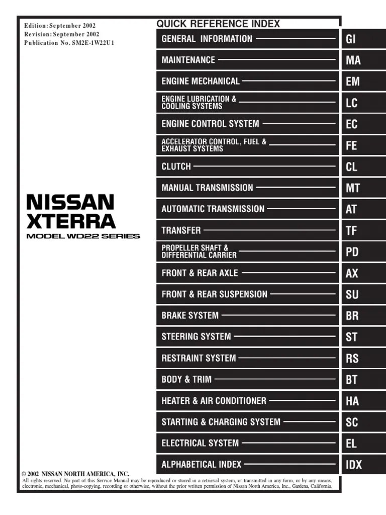 2004 nissan xterra 3300 fuse box diagram images gallery [ 768 x 1024 Pixel ]