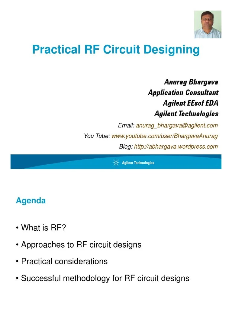 Practical Rf Circuit Design For Modern Wireless Systems Active
