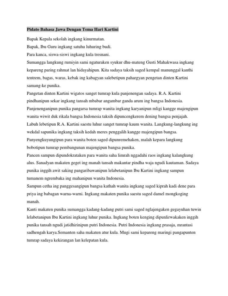 Contoh Teks Pidato Penyerahan Pengantin Pria Bahasa Jawa