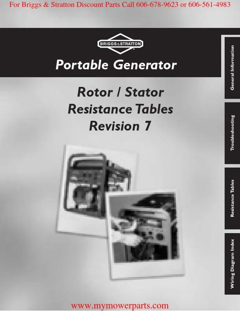 medium resolution of brigg and stratton generator wiring diagram