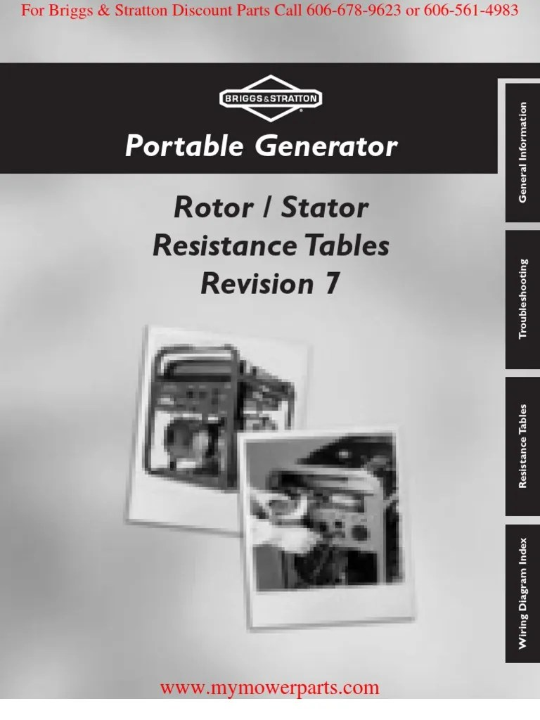 small resolution of brigg and stratton generator wiring diagram