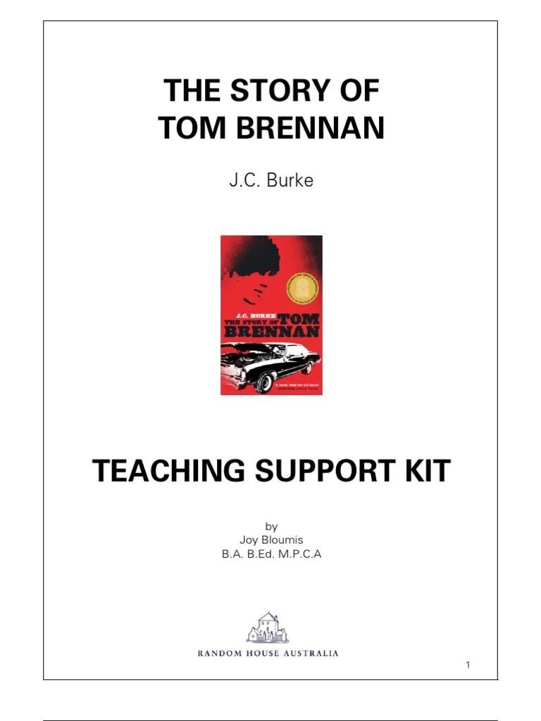 Tom brennan essay introduction