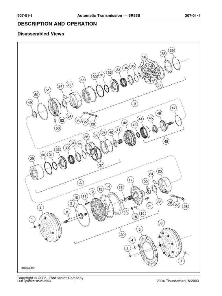 5r55s exploded diagram pdf transmission mechanics automatic transmission [ 768 x 1024 Pixel ]