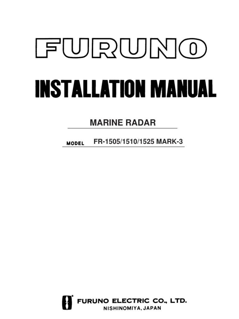 medium resolution of furuno radar wiring harnes