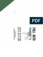 Mac 10, Cobray M11.m11/9mm Receiver Machines drawings