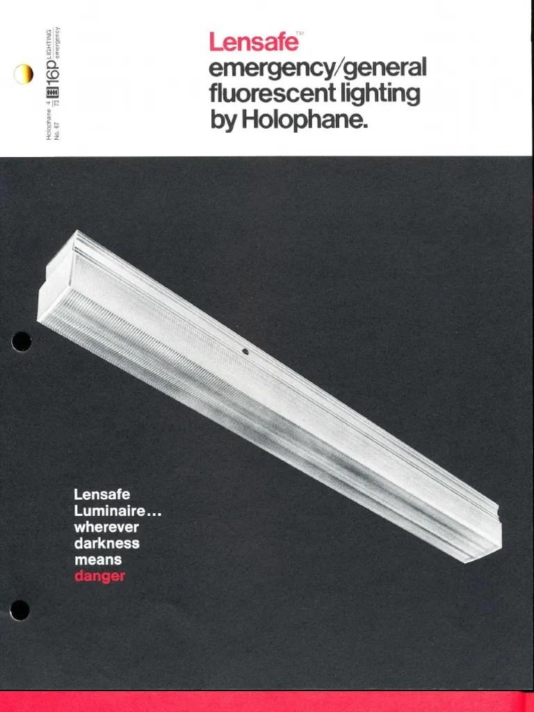 medium resolution of holophane emergency lensafe series brochure 4 73 lighting rh es scribd com 3 lamp ballast wiring diagram 3 lamp ballast wiring diagram