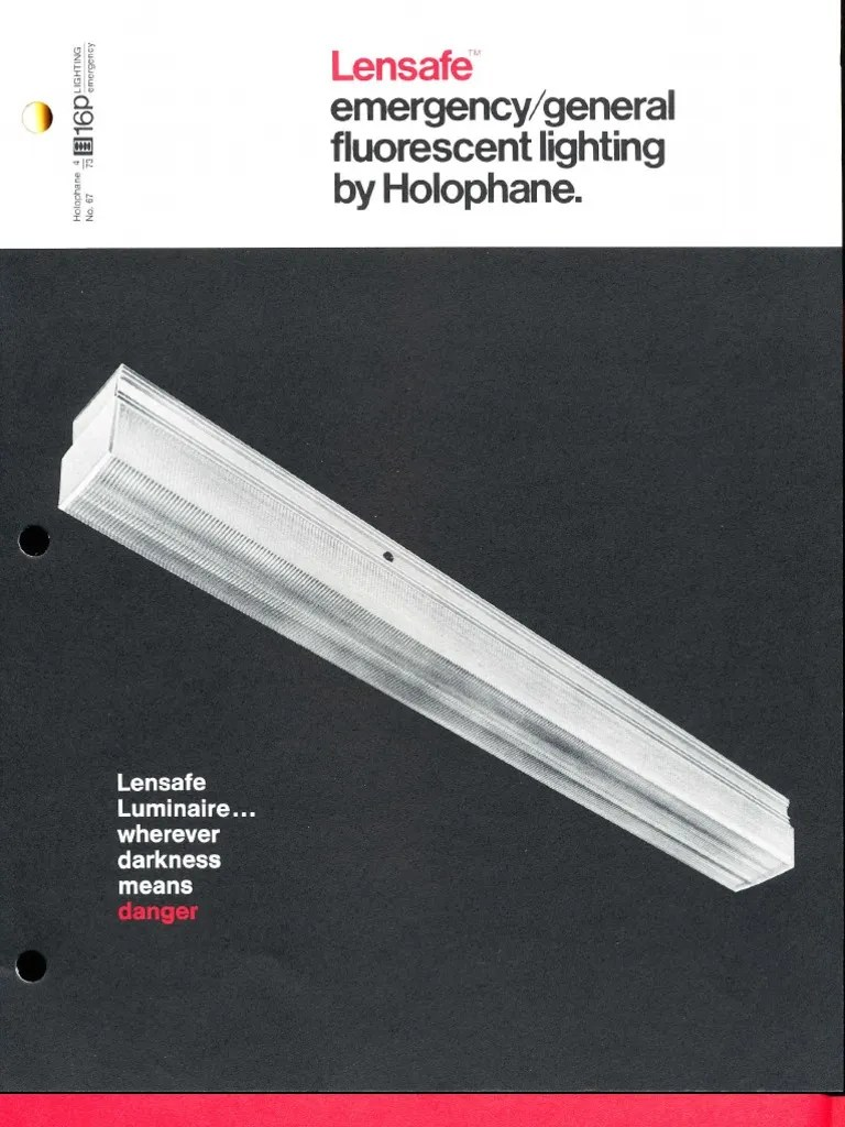 small resolution of holophane emergency lensafe series brochure 4 73 lighting rh es scribd com 3 lamp ballast wiring diagram 3 lamp ballast wiring diagram