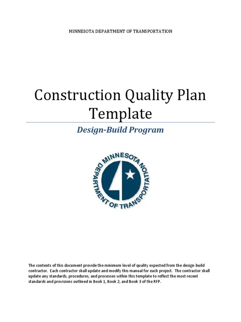 hight resolution of electrical contractor quality plan