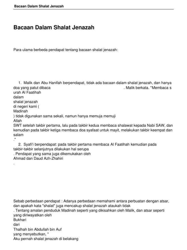 Dalam Shalat Jenazah Shalawat Dibaca Setelah Takbir : dalam, shalat, jenazah, shalawat, dibaca, setelah, takbir, Bacaan-dalam-shalat-jenazah.pdf