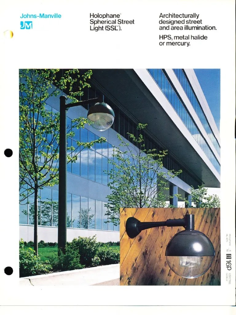 medium resolution of holophane spherical street light ssl series brochure 6 78 capacitor insulator electricity
