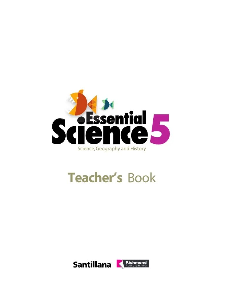 Teacher´s book science 5º richmond