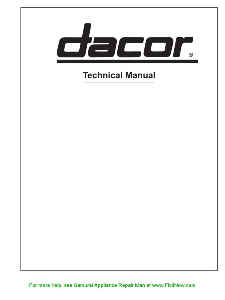dacor stove wiring diagram simple wiring diagram on dacor warming drawer wiring diagram  [ 768 x 1024 Pixel ]