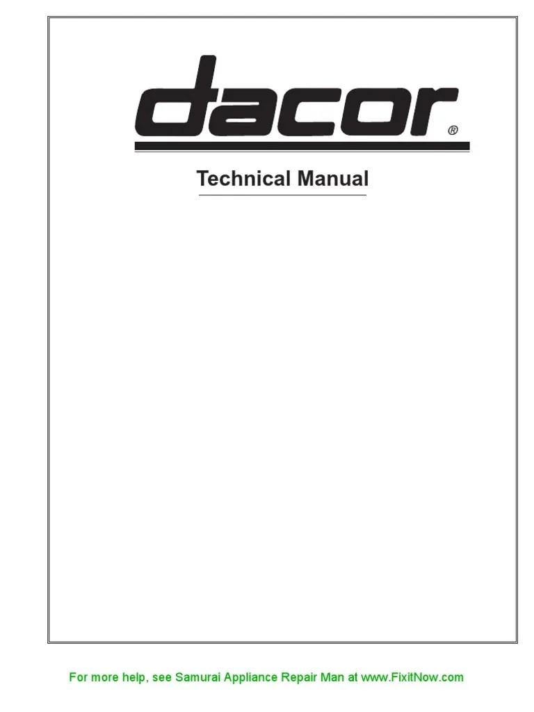medium resolution of  dacor stove wiring diagram simple wiring diagram on dacor warming drawer wiring diagram