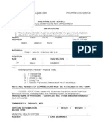 Medical Certificate (1) Form 211