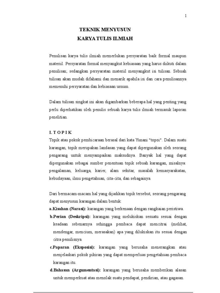 Contoh Karya Ilmiah Tentang Pendidikan Guru Ilmu Sosial Cute766