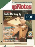 Shop Notes Router Lift