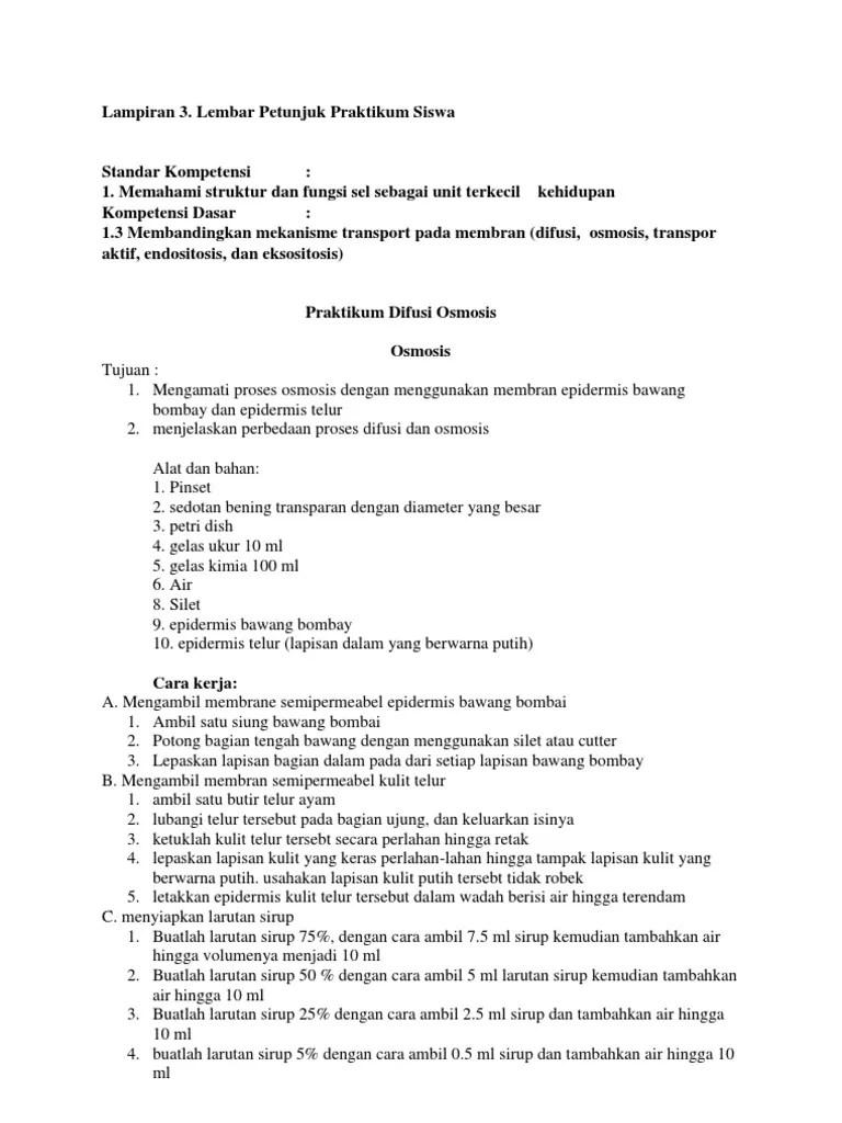 Laporan Praktikum Difusi Dan Osmosis : laporan, praktikum, difusi, osmosis, Praktikum, Difusi, Osmosis.docx