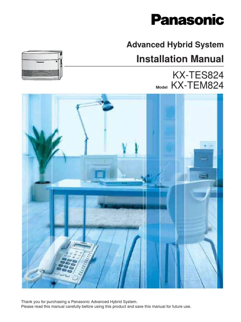 small resolution of  telegraph panasonic kx tes824 installation manual electrical connector 2 7k on telephone paging system panasonic telephone system wiring diagram