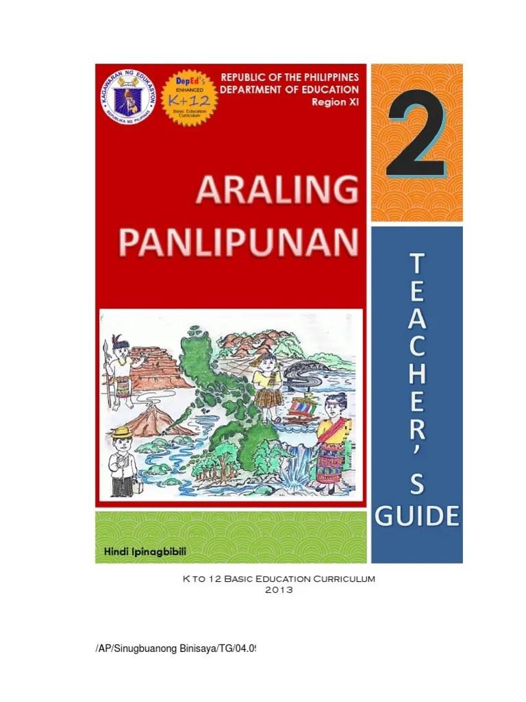 medium resolution of Araling Panlipunan - Grade 2