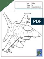 Mewarnai Gambar Pesawat Tempur : mewarnai, gambar, pesawat, tempur, Mewarnai, Menggambar:, Gambar, Pesawat, Tempur