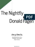 Donald Fagen the Nightfly Book
