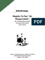 Proposal Masjid Doc : proposal, masjid, Contoh, Proposal, Bantuan, Pembangunan, Masjid, Temukan