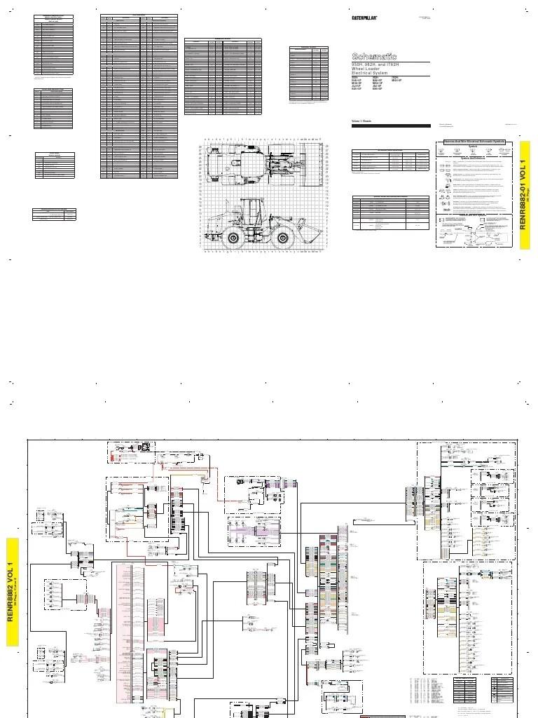 950h 962h wheel loader electrical system multi terrain loader caterpillar 299 caterpillar 247b heater fan caterpillar 247b heater fan wiring schematic  [ 768 x 1024 Pixel ]
